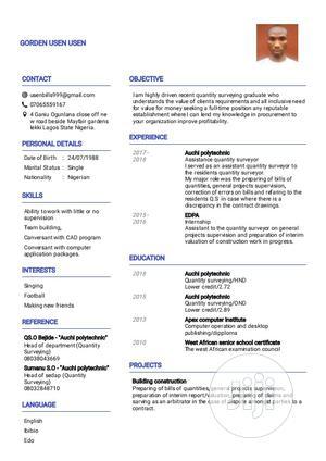 Junior Recruitment Consultant - IT | Computing & IT CVs for sale in Lagos State, Lekki