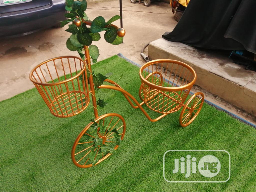 3 Wheels Planter Stand For Sale To Bulk Buyers | Manufacturing Services for sale in Ado Ekiti, Ekiti State, Nigeria