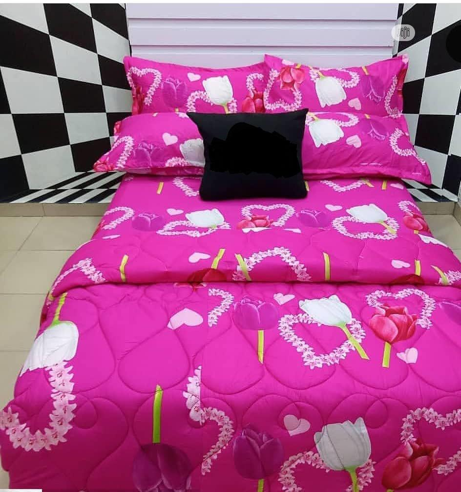 Bedsheet With 4 Pillowcases
