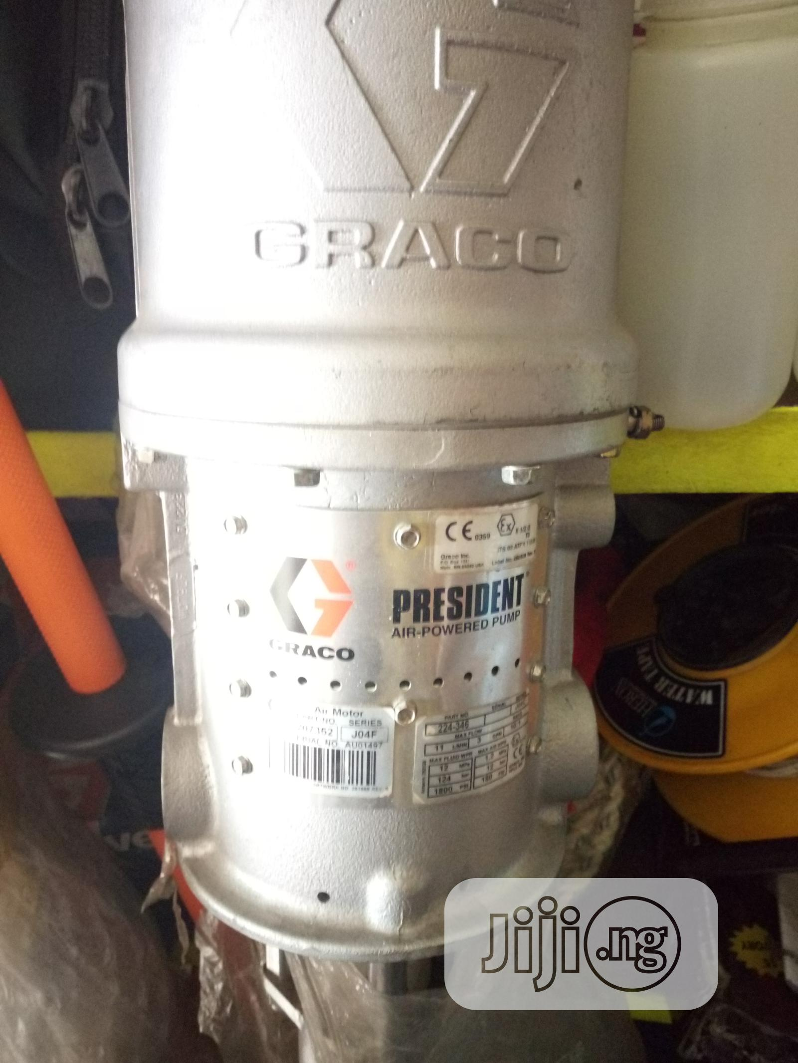 Graco 224-346 Stainless Steel Hydraclean President Pump 1800 PSI