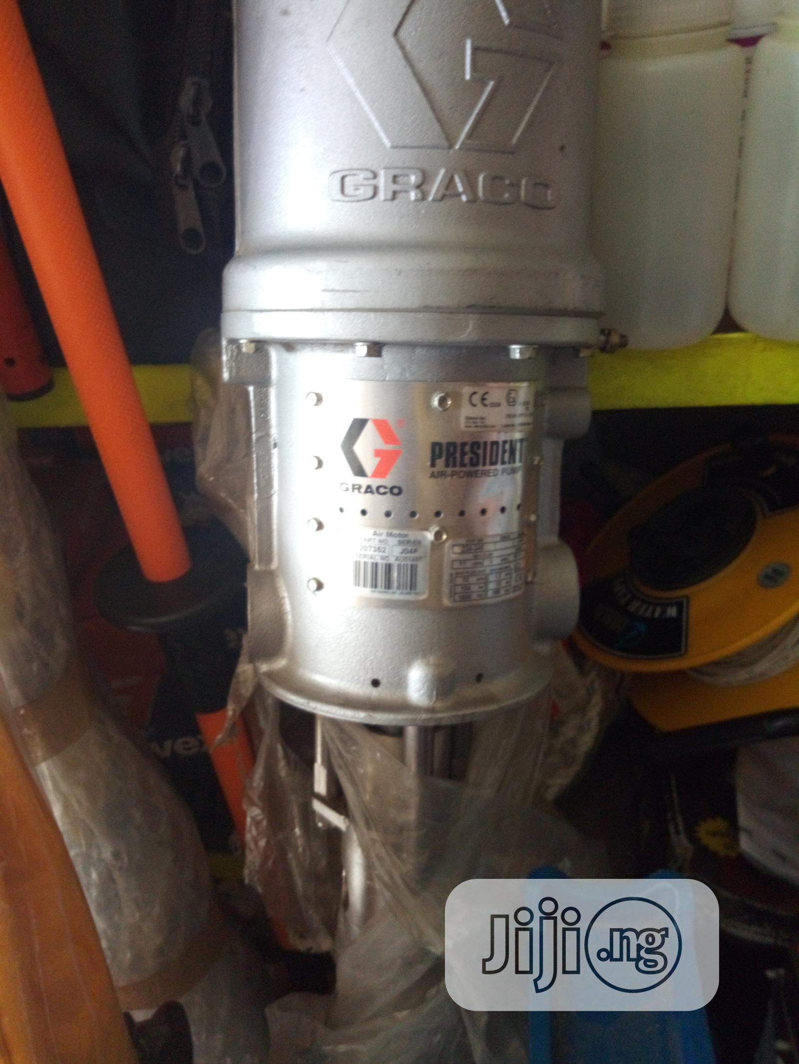 Graco 224-346 Stainless Steel Hydraclean President Pump 1800 PSI   Manufacturing Equipment for sale in Port-Harcourt, Rivers State, Nigeria