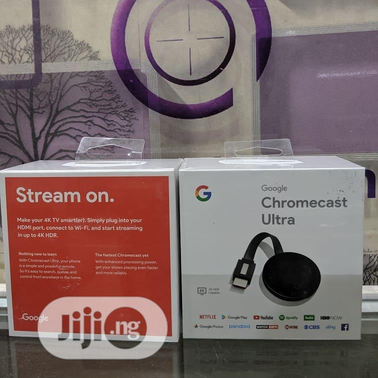 Google Chromecast-2018 - Digital HD Media Streamer | Accessories & Supplies for Electronics for sale in Ikeja, Lagos State, Nigeria
