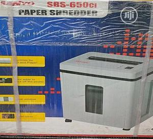 Generic Sanyo Paper Shredder Sbs-650ci | Stationery for sale in Lagos State, Ikeja
