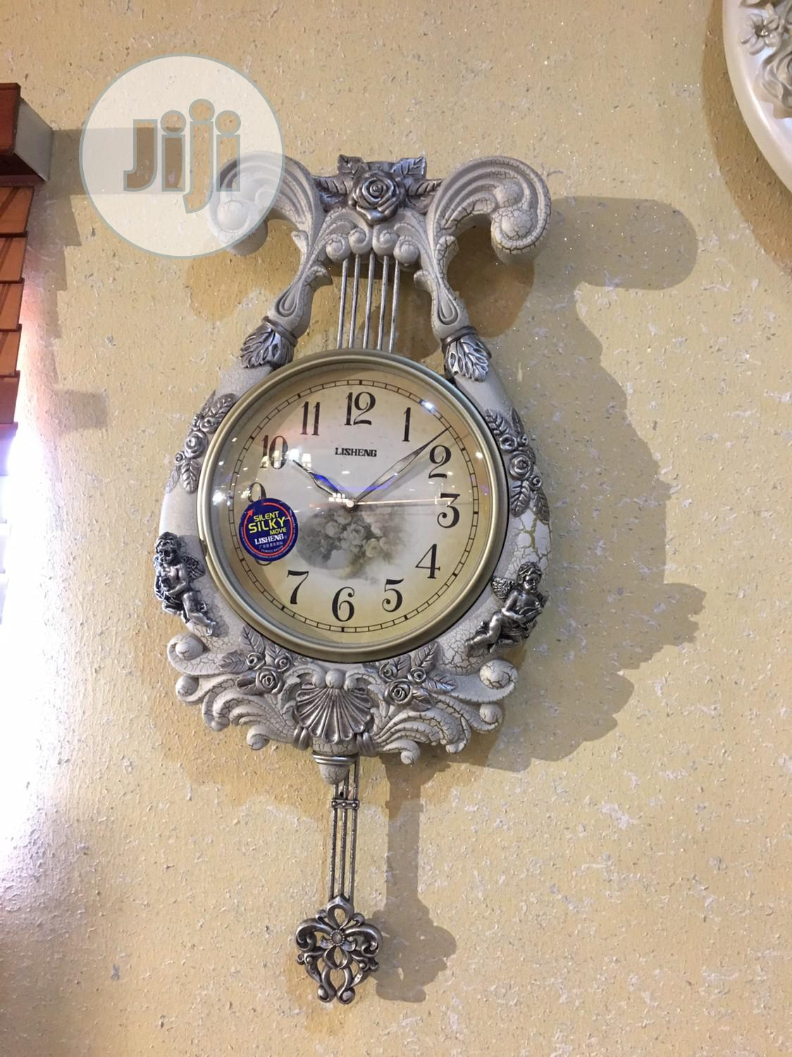 Exotic Classic Wall Clock | Home Accessories for sale in Ojo, Lagos State, Nigeria