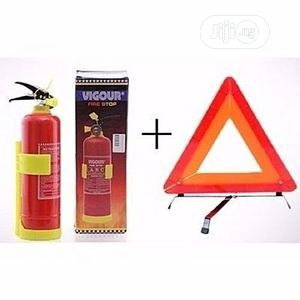 Fire Extinguisher And C- Caution | Safetywear & Equipment for sale in Abuja (FCT) State, Gudu