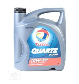 Quartz 7000 Total Oil 4liter. | Vehicle Parts & Accessories for sale in Abuja (FCT) State, Gudu