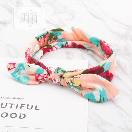 Baby Flower Hair Band | Children's Clothing for sale in Oshodi-Isolo, Lagos State, Nigeria