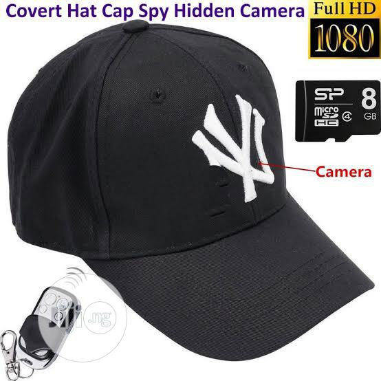 Spy Video Camera Face Cap