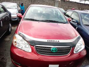 Toyota Corolla 2007 1.6 VVT-i Red   Cars for sale in Lagos State, Apapa