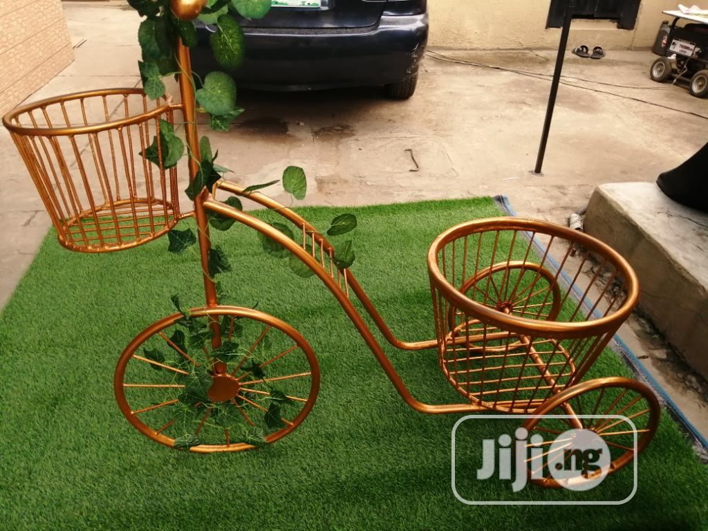 3 Wheels Planter Stand For Sale At Affordable Cost