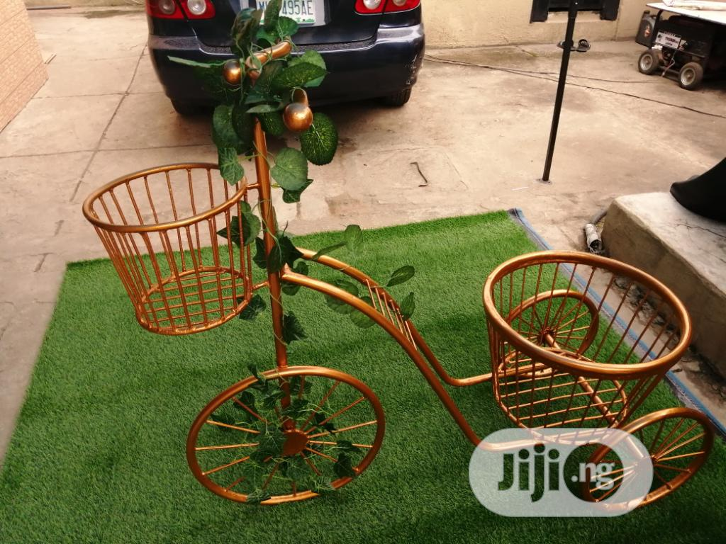 3 Wheels Planter Stand For Sale At Affordable Cost | Manufacturing Services for sale in Lafia, Nasarawa State, Nigeria
