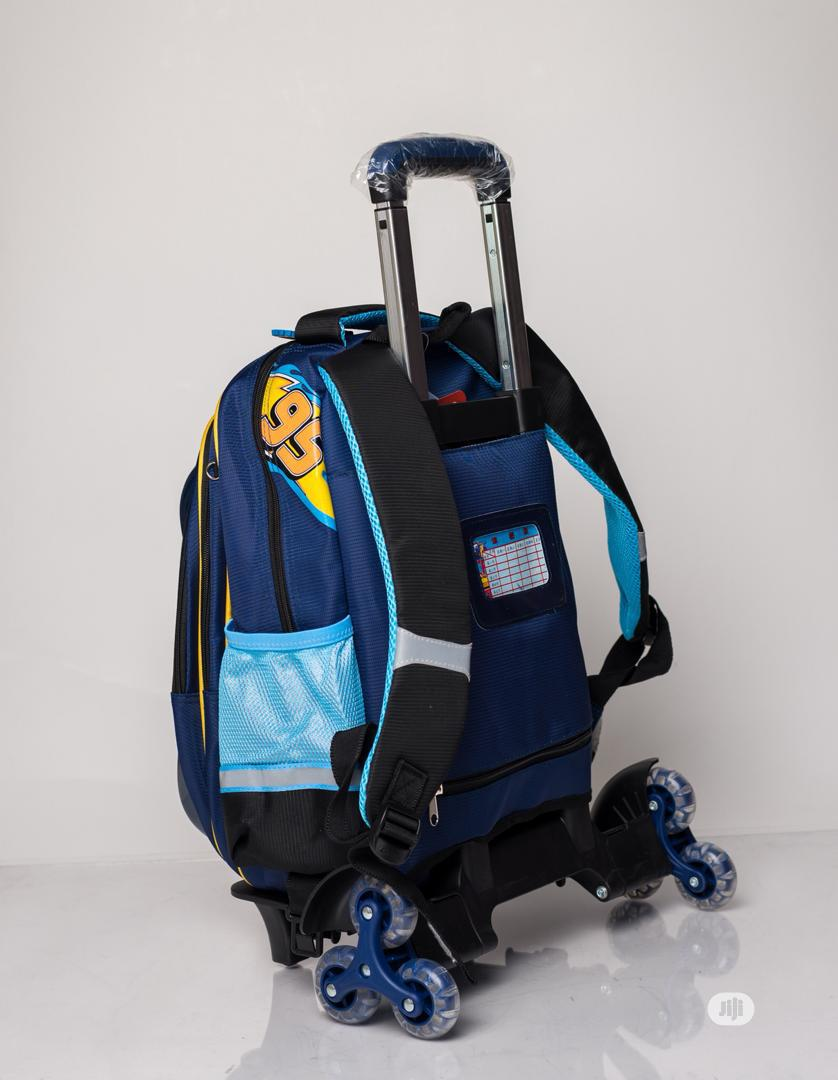 Disney Cars Trolley School Bag | Babies & Kids Accessories for sale in Ikeja, Lagos State, Nigeria