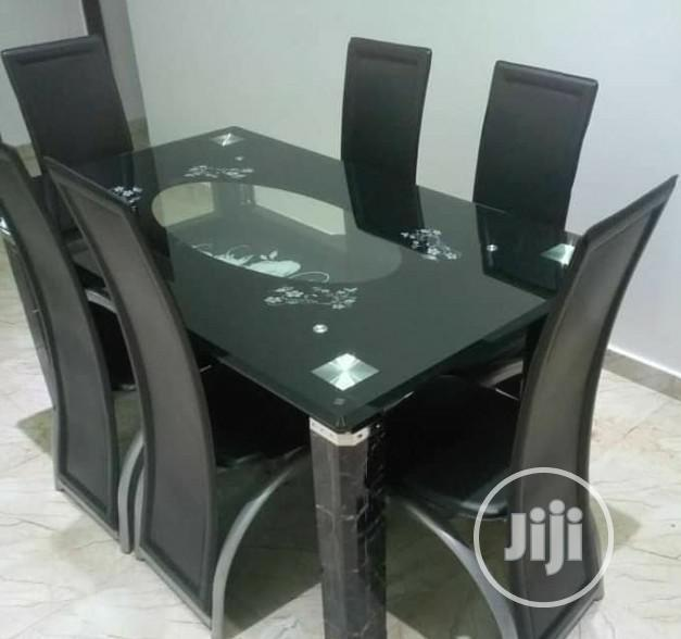 Archive: Quality Glass Dining Table by 6