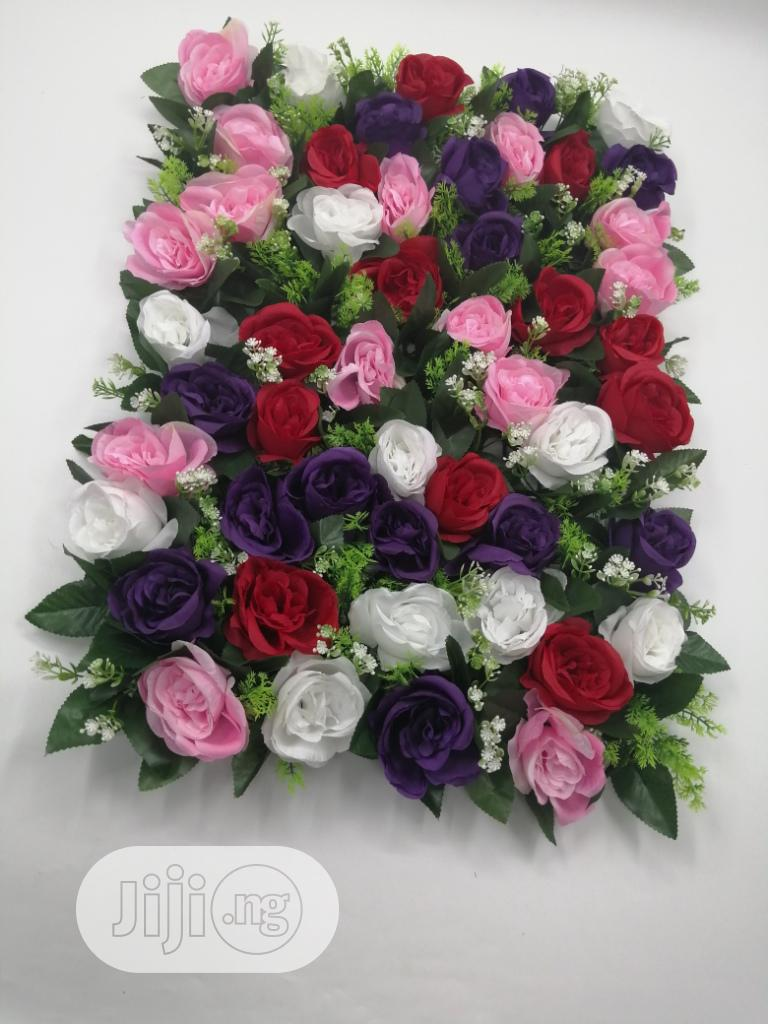 Beautiful Interior Rose Flower Frame