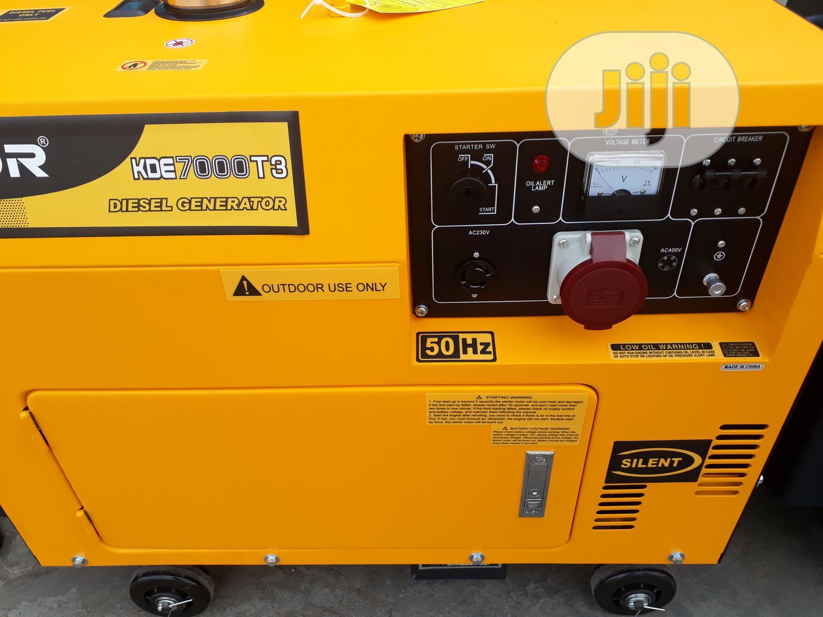 Kipor Diesel Generator 8.5kva Three Phase | Electrical Equipment for sale in Yaba, Lagos State, Nigeria