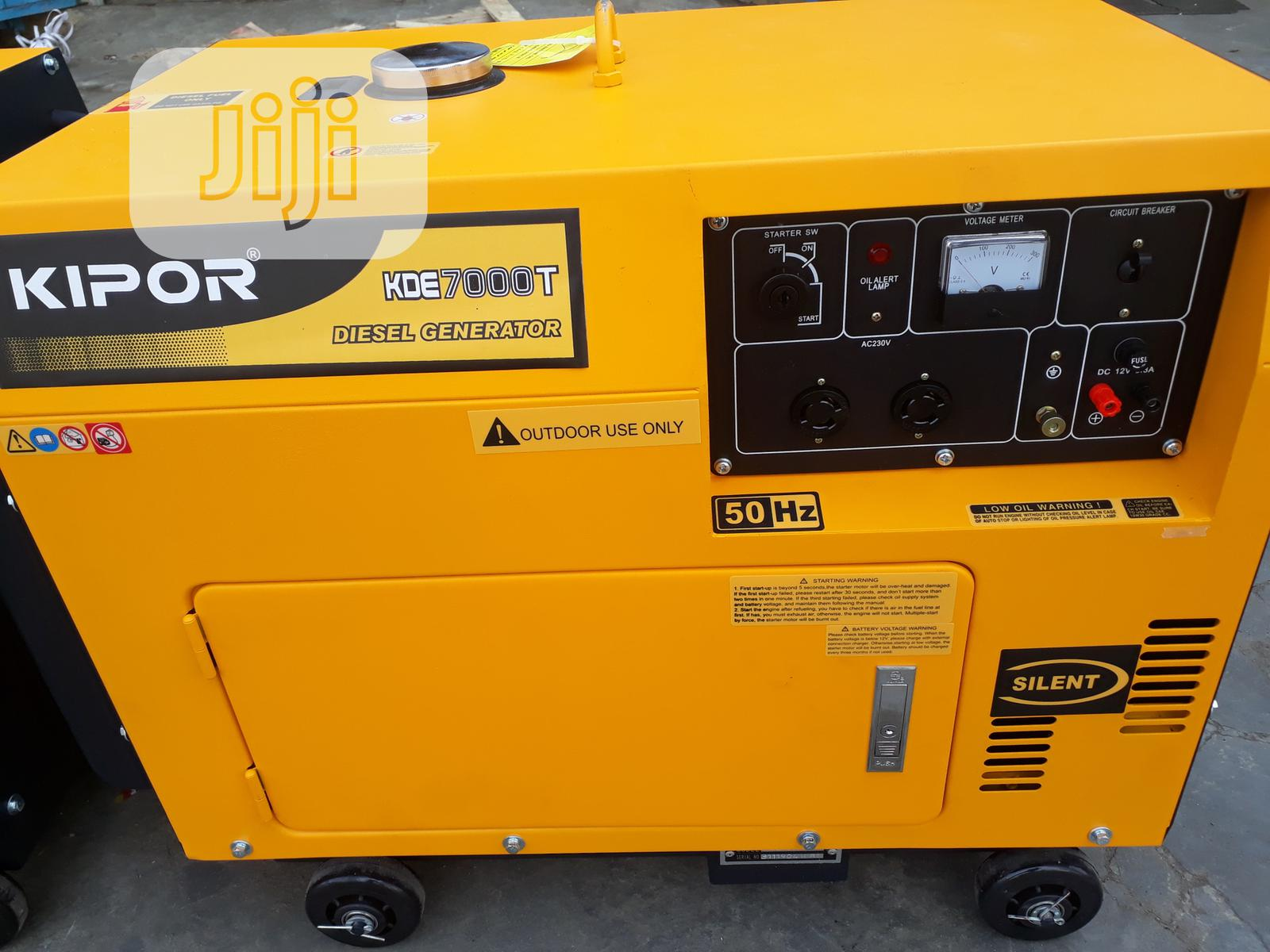 Kipor Diesel Generator 8.5kva Single Phase