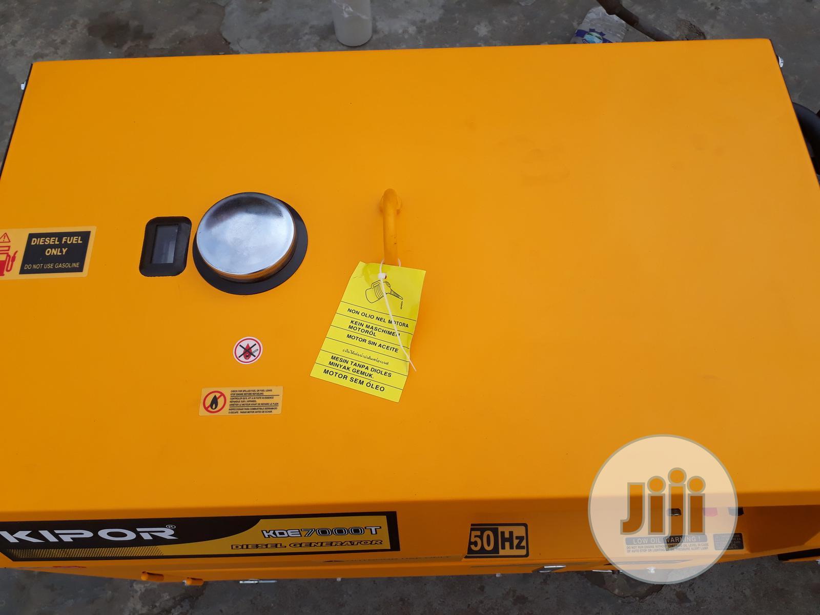 Kipor Diesel Generator 8.5kva Single Phase | Electrical Equipment for sale in Yaba, Lagos State, Nigeria