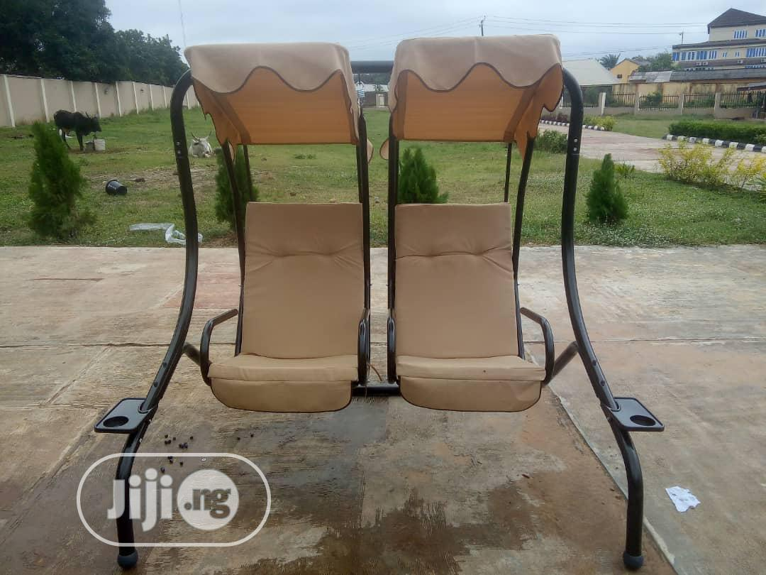 High Quality Garden/Outdoor Double Swing Chairs.