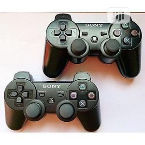 Sony 2pcs Of PS3 Dualshock 3 Wireless Controllers Pads | Accessories & Supplies for Electronics for sale in Lagos State, Ikeja
