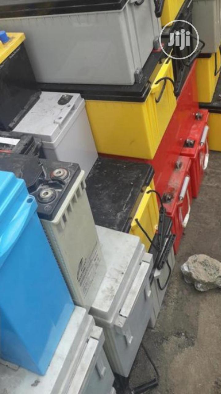 We Buy Scrap Condemn Solar Battery Abuja