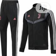 Juventus Fc Training Tracksuit All Black | Clothing for sale in Lagos State, Lagos Island