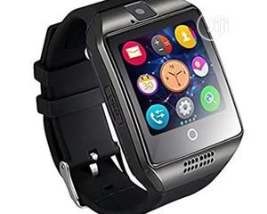 Q18 Smartwatch - Silver | Smart Watches & Trackers for sale in Lagos State