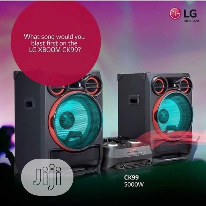 Archive: LG Club Set 5000W High Sound Ck99 Blast Karaoke Set Bluetooth