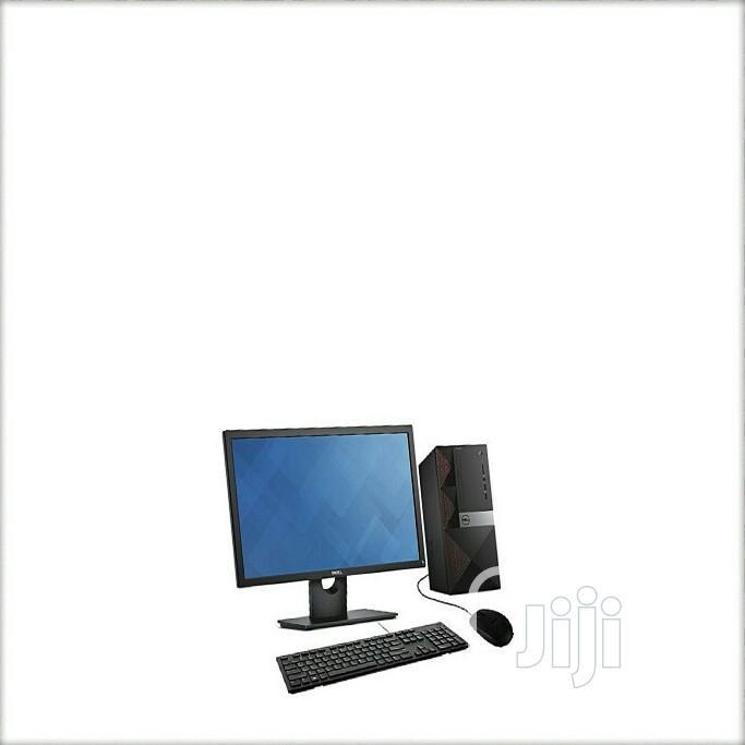 New Desktop Computer Dell 4GB Intel 500GB | Laptops & Computers for sale in Ikeja, Lagos State, Nigeria