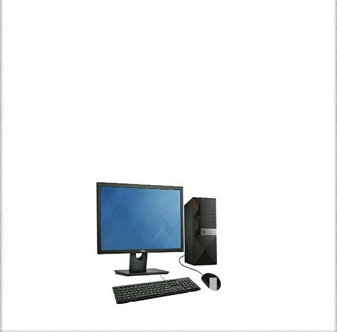 New Desktop Computer Dell 4GB Intel 500GB