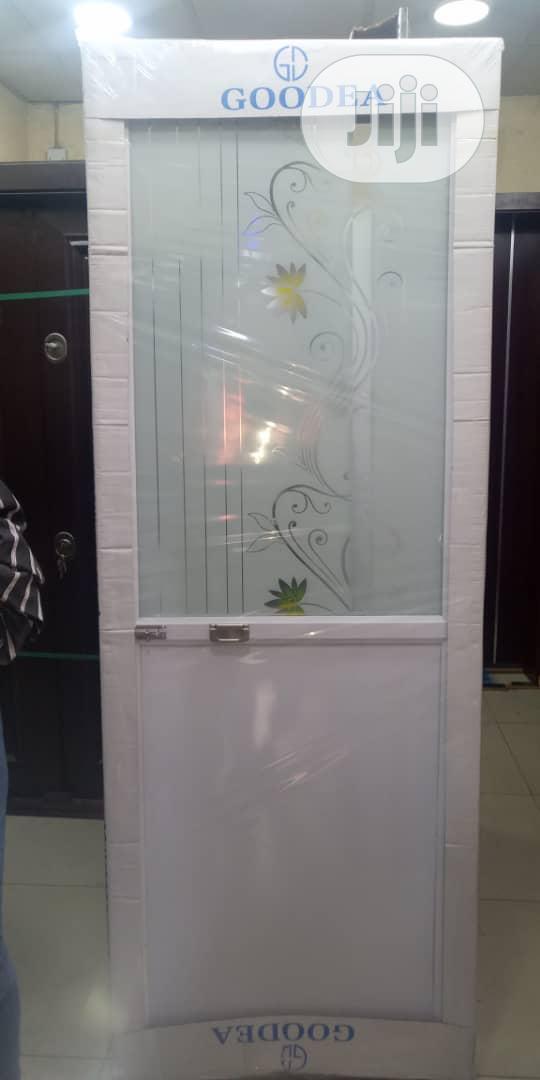 Toilet Aluminium Door
