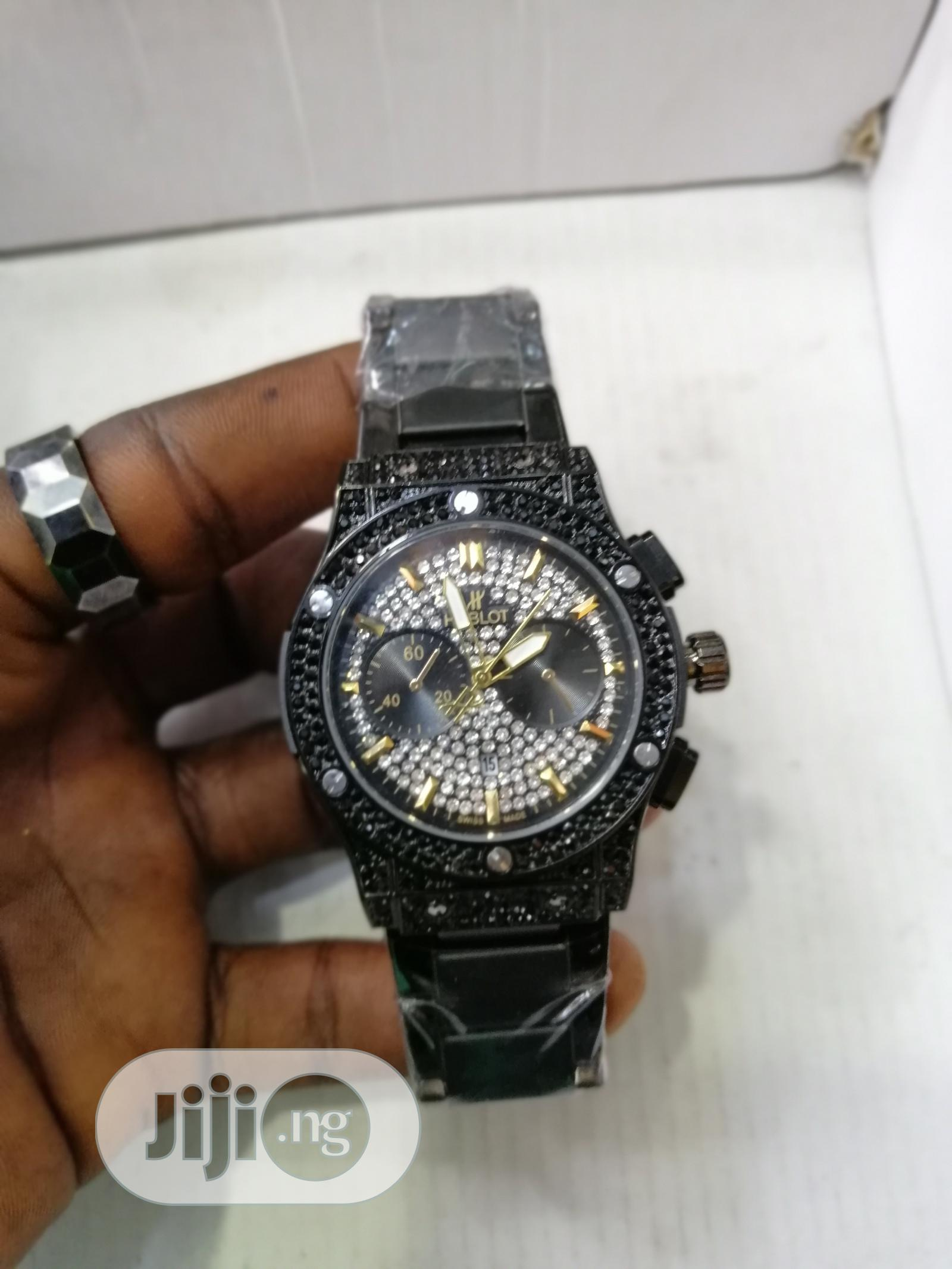 Hublot Wrist Watch | Watches for sale in Lagos Island (Eko), Lagos State, Nigeria