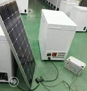 Solar Deep Freezer With Solar Panel And Battery