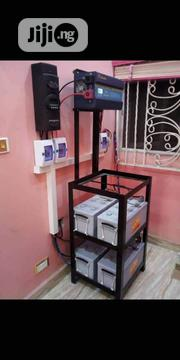 Solar Deep Cycle Battery + Inverter + Controller With Installation. | Building & Trades Services for sale in Lagos State, Ojo
