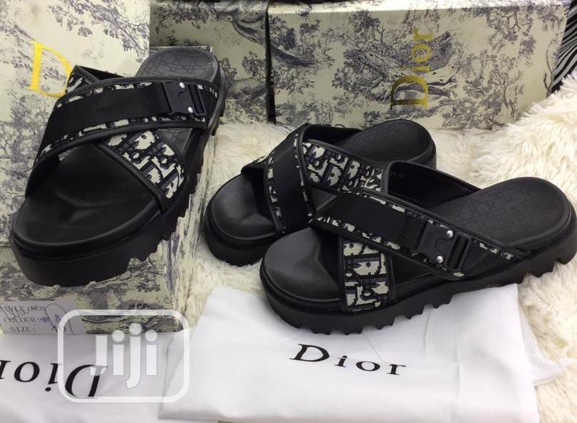 Dior Mens Slippers in Lagos Island (Eko