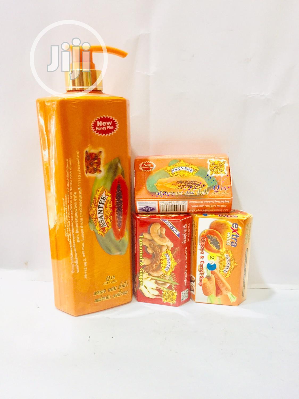 Asantee Papaya Soap | Bath & Body for sale in Ajah, Lagos State, Nigeria