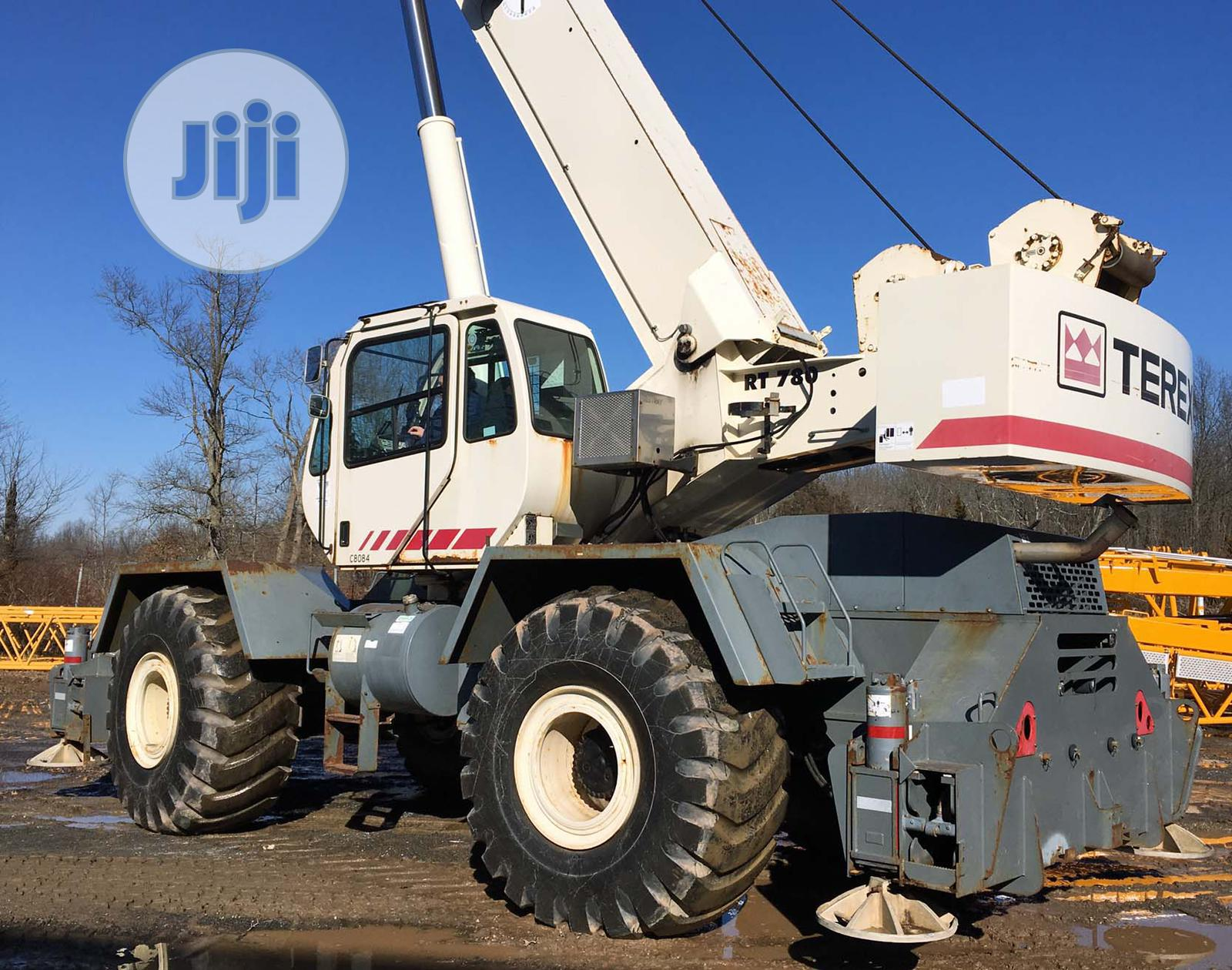 80tons Terex Crane RT780 | Heavy Equipment for sale in Surulere, Lagos State, Nigeria