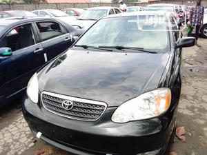 Toyota Corolla 2007 1.6 VVT-i Black   Cars for sale in Lagos State, Apapa