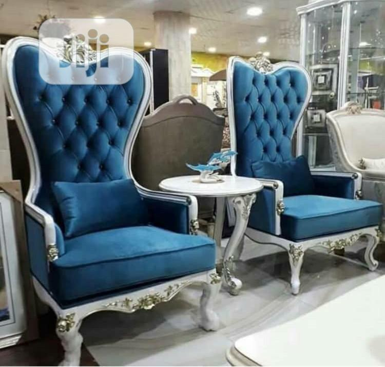 Royal Console Chair and Table