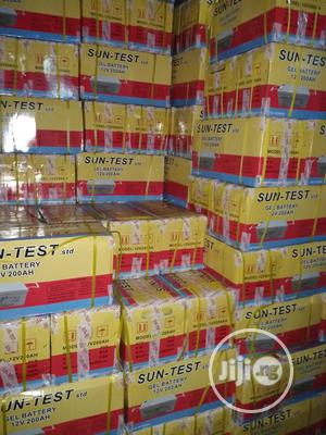 100ah SUNTEST High Quality Battery At Affordable Price.