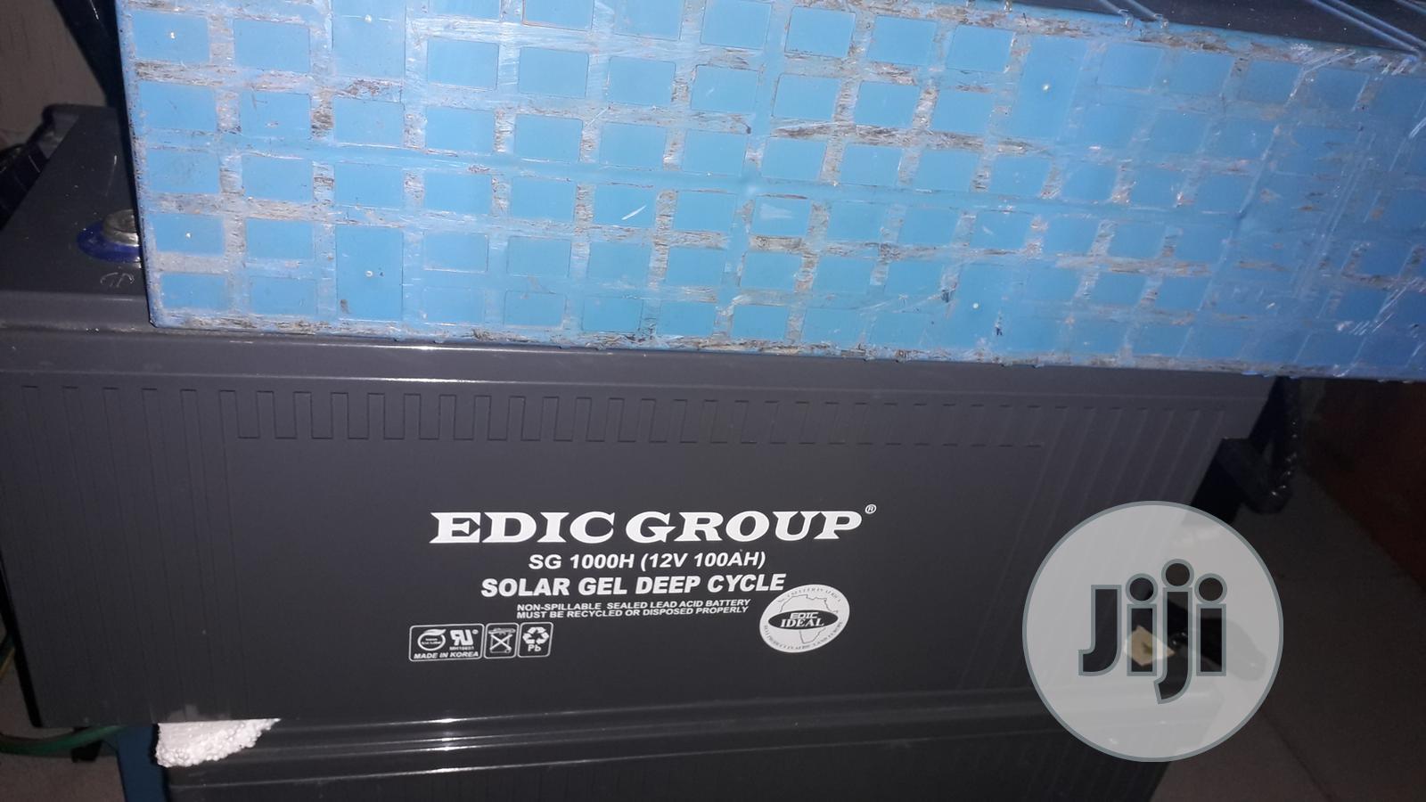 Scrap (Condemn) Solar Batteries Gwagwalada