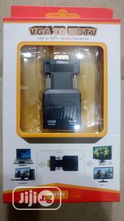 VGA To HDMI + Audio Adapter | Accessories & Supplies for Electronics for sale in Lagos State, Ikeja