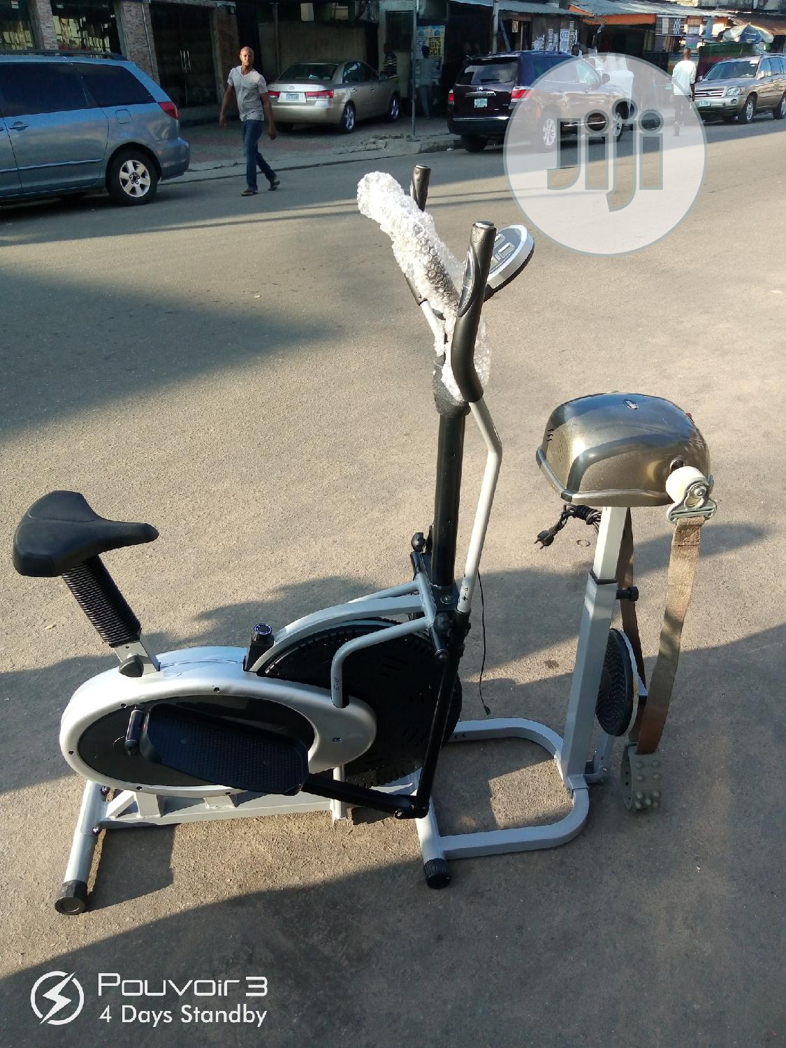 4-in-1 Multi Purpose Elliptical Trainer Stationary Bike. | Sports Equipment for sale in Surulere, Lagos State, Nigeria