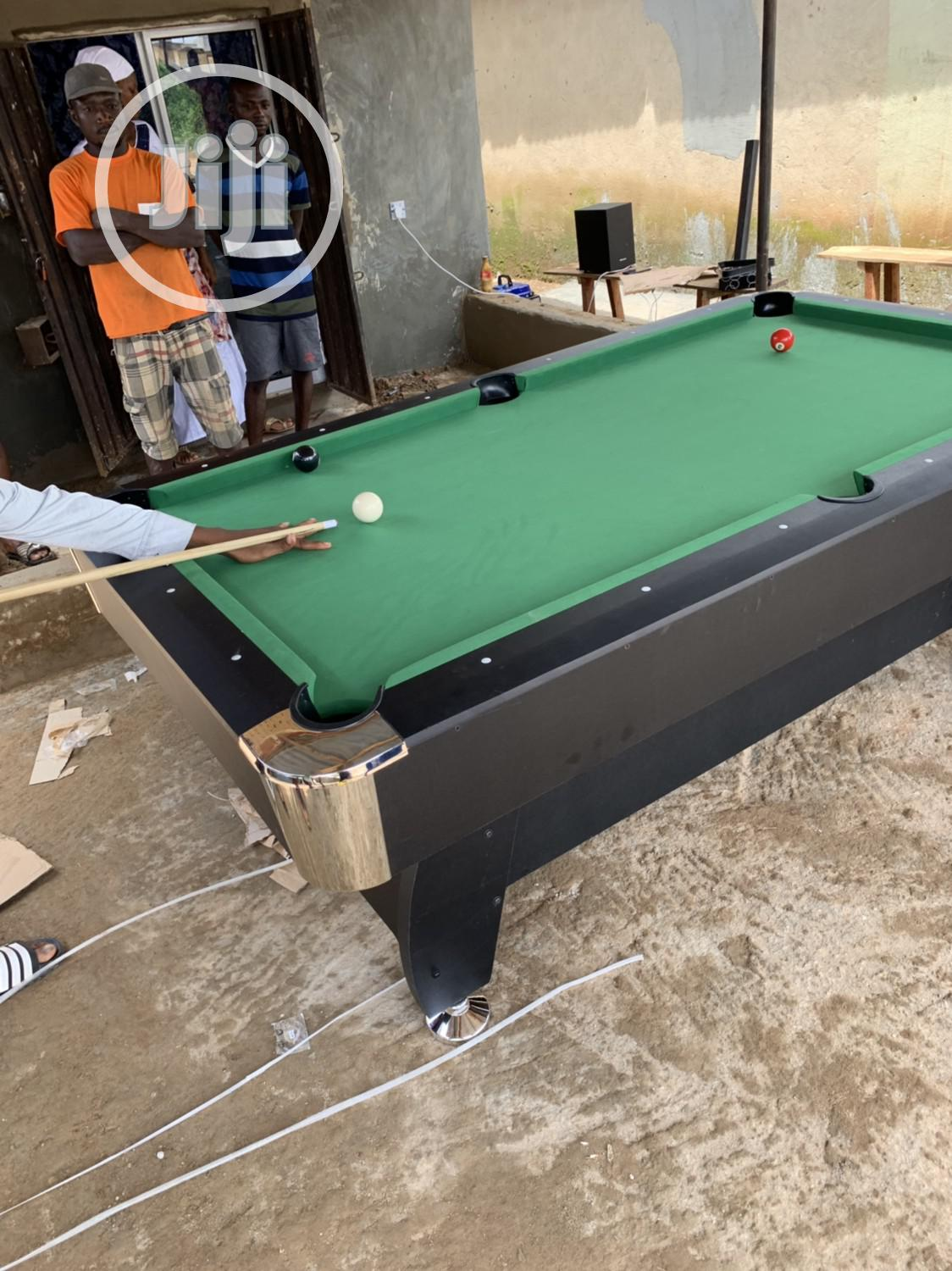 Standard Snooker Table With Double Accessories