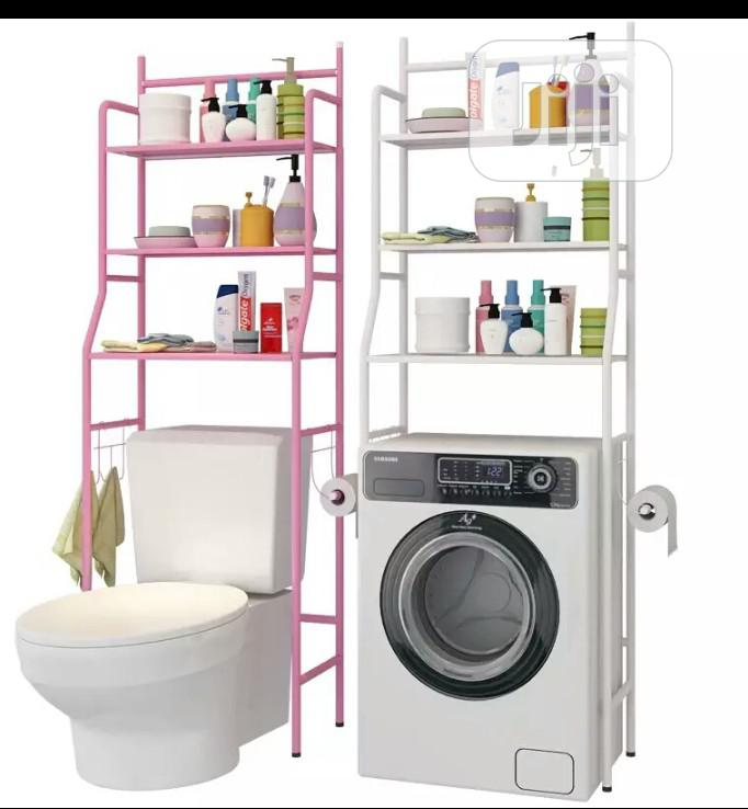 Multifuntional Shelves Toilet And Bath
