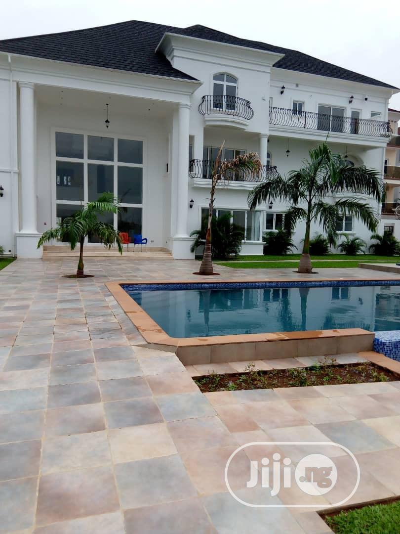 A 7 Bedroom Mansion With Pool For Sale At Banana Island Ikoyi