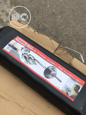 50kg Barbell With Case | Sports Equipment for sale in Lagos State, Badagry