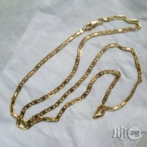 Tested Italy 750 Solid 18krt Gold Blade Belt Design   Jewelry for sale in Lagos State, Lagos Island (Eko)