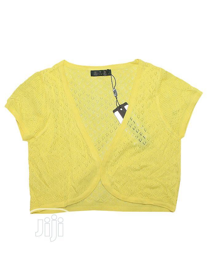 Girls Bolero -Yellow,Green,Pink, Off White and Blue