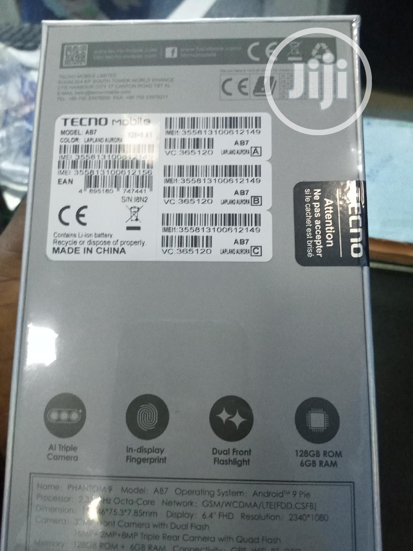 New Tecno Phantom 9 128 GB Black | Mobile Phones for sale in Ikeja, Lagos State, Nigeria