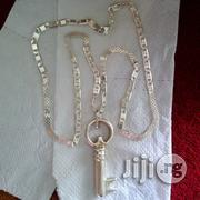 Italy 925 Solid Sterling Silver Mixed Design With Key | Jewelry for sale in Lagos State, Lagos Island